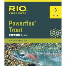Rio Powerflex Trout Leaders, 3-Pack