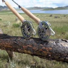 Waterworks Lamson Center Axis Rod & Reel System