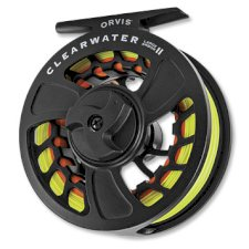 Orvis Clearwater Fly Reel w/free line, leader or tippet*