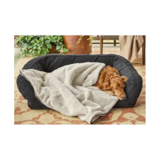 Orvis Embossed Sherpa Dog Throw
