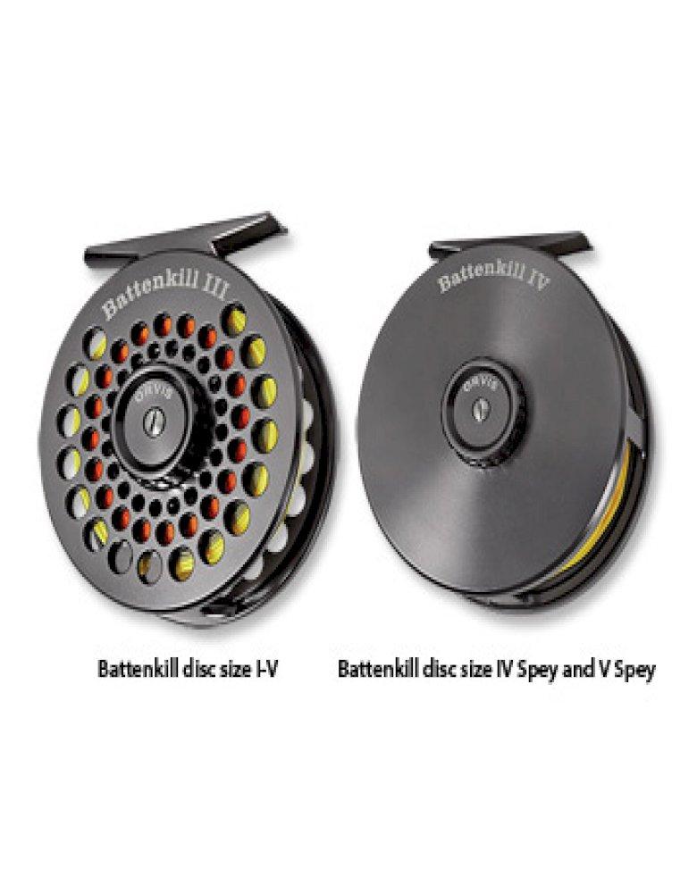 Orvis Battenkill Disc Fly Reel w/free line, leader or tippet*