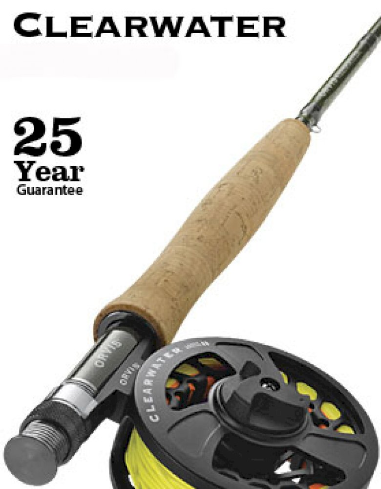 Orvis Clearwater Freshwater Outfit - Fly Rod, Reel & Line Combo