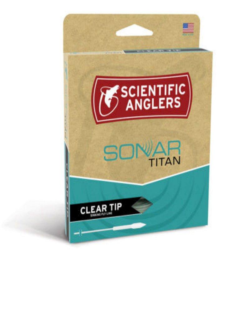 SA Sonar Titan Clear Tip Fly Line