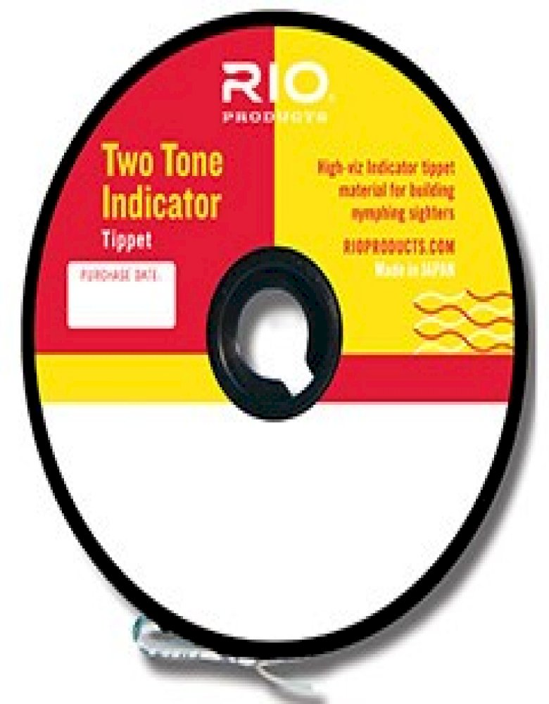 Rio Two-Tone Indicator Tippet - 30 Yard