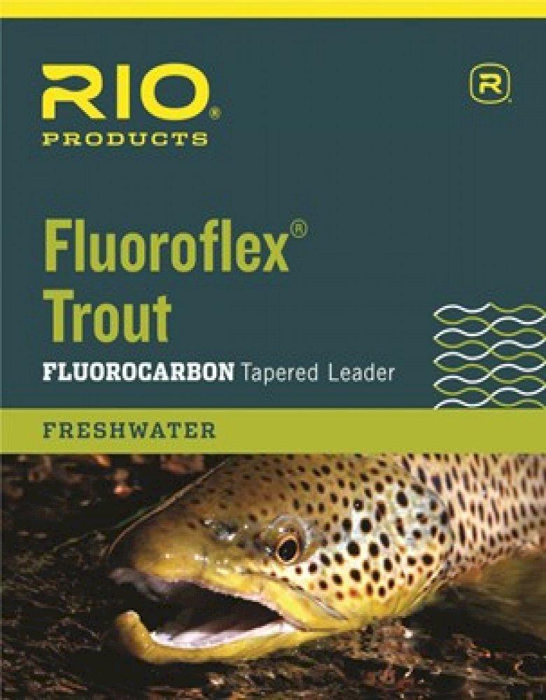 Rio Fluoroflex Trout Leaders, Single Pack