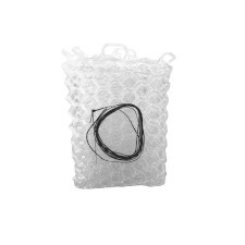 "Fishpond Nomad Replacement Rubber Net Kit - 12.5"" Clear (Native Net Models)"