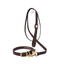 Orvis Leather Softshell Dog Leash
