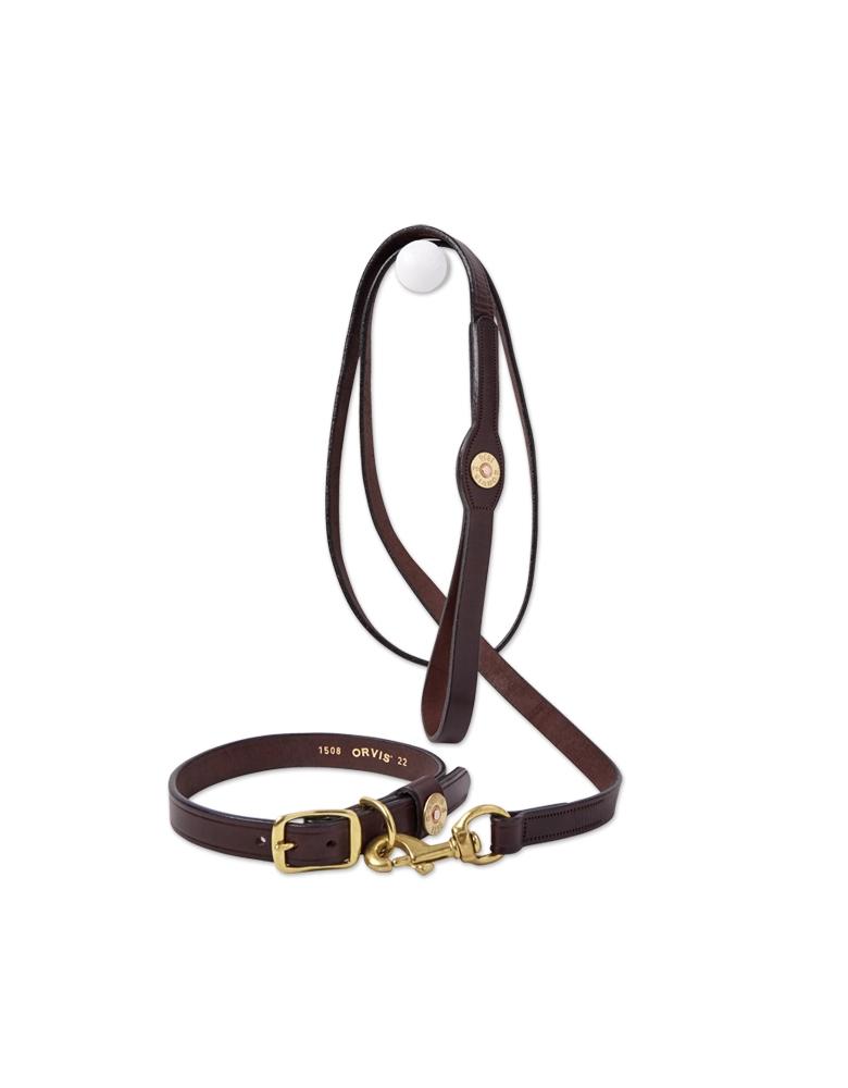 Orvis Leather Softshell Dog Leash