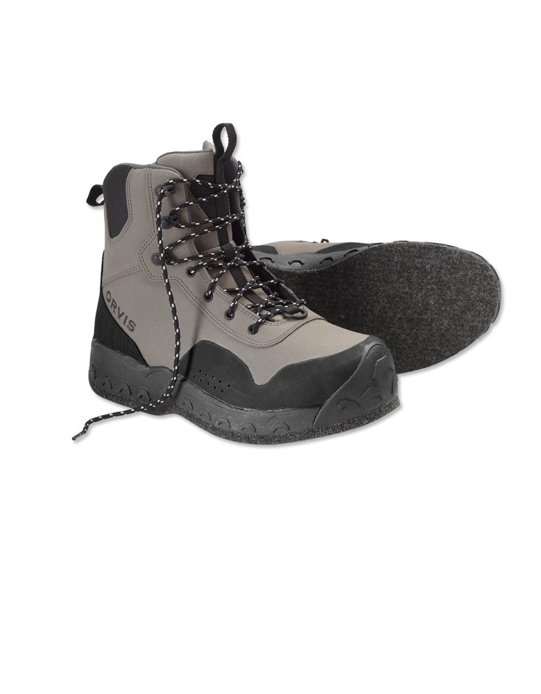 Orvis Men's Clearwater Wading Boots- Felt Sole w/free fly line, tippet or leader*