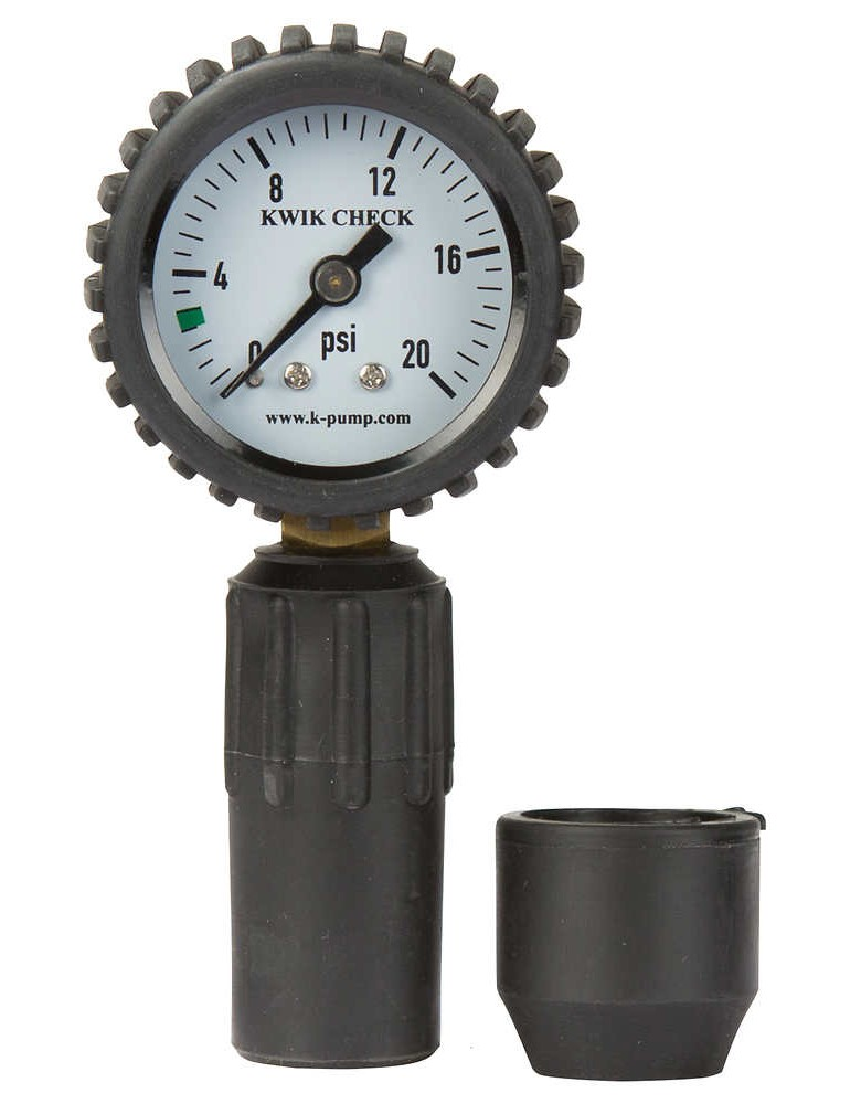 Outcast Kwik Check Pressure Gauge