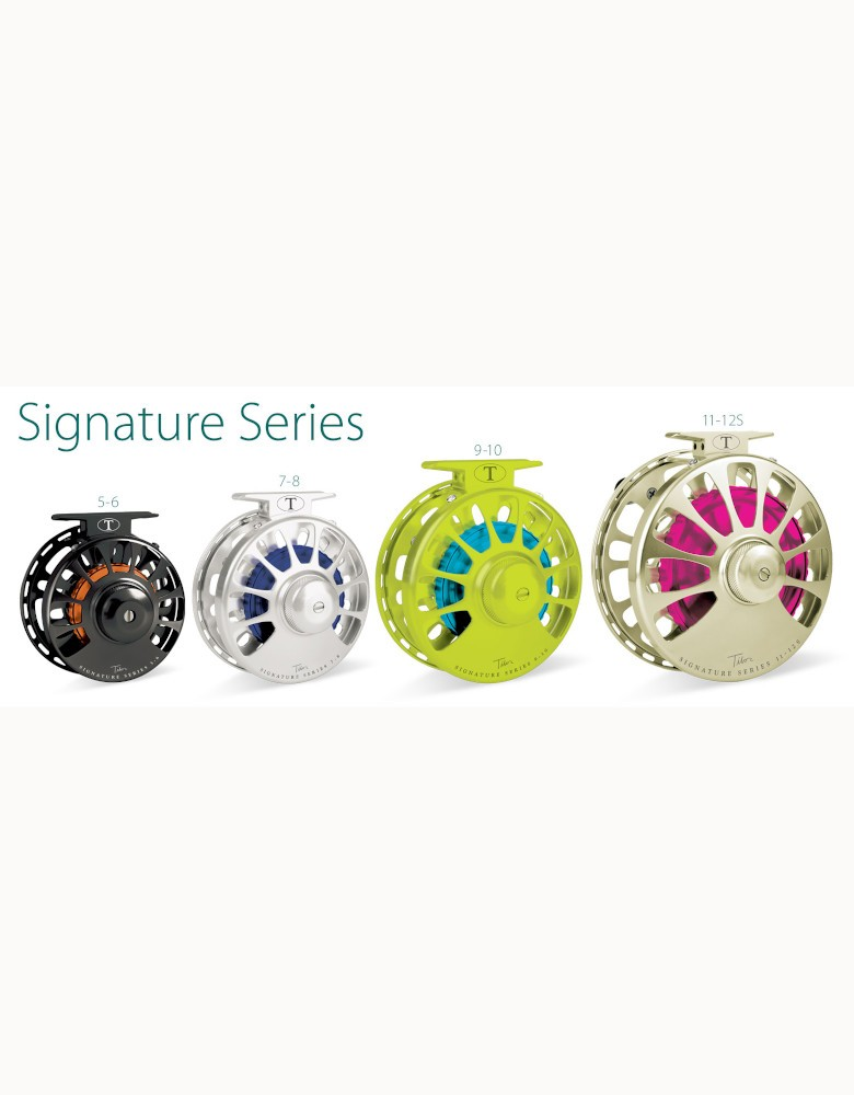 Tibor Signature Series 11/12S Fly Reel with free fly line, tippet or leader*