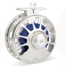 Tibor Signature Series 7/8 Fly Reel with free fly line, tippet or leader*